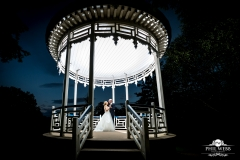 wedding pictures bride groom pitville pump rooms bandstand dancing