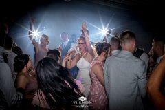 bride groom party pictures dancing