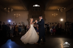 heythrop park wedding day bride groom first dance