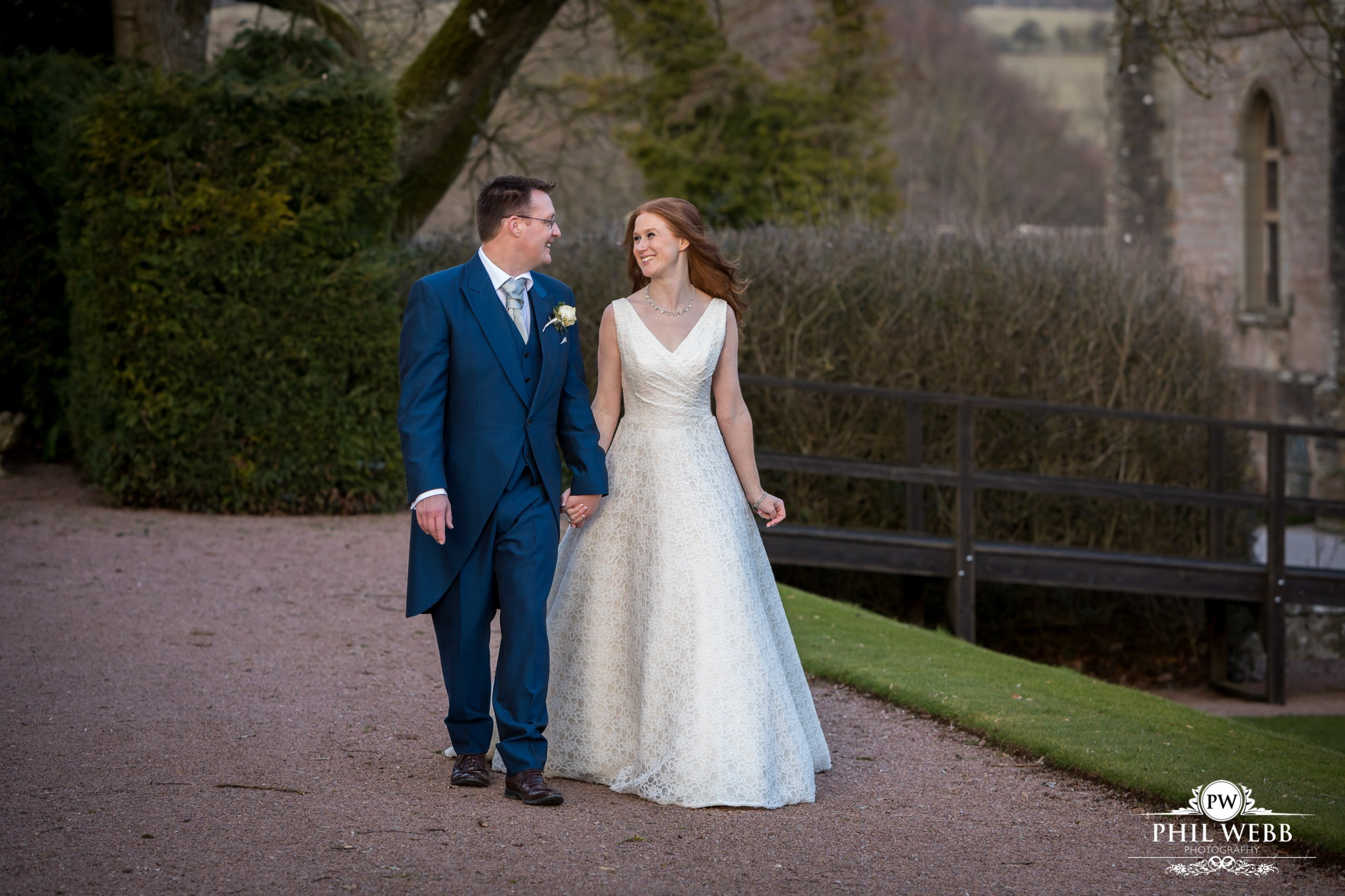 Laura & Darren's Wedding Clearwell Castle