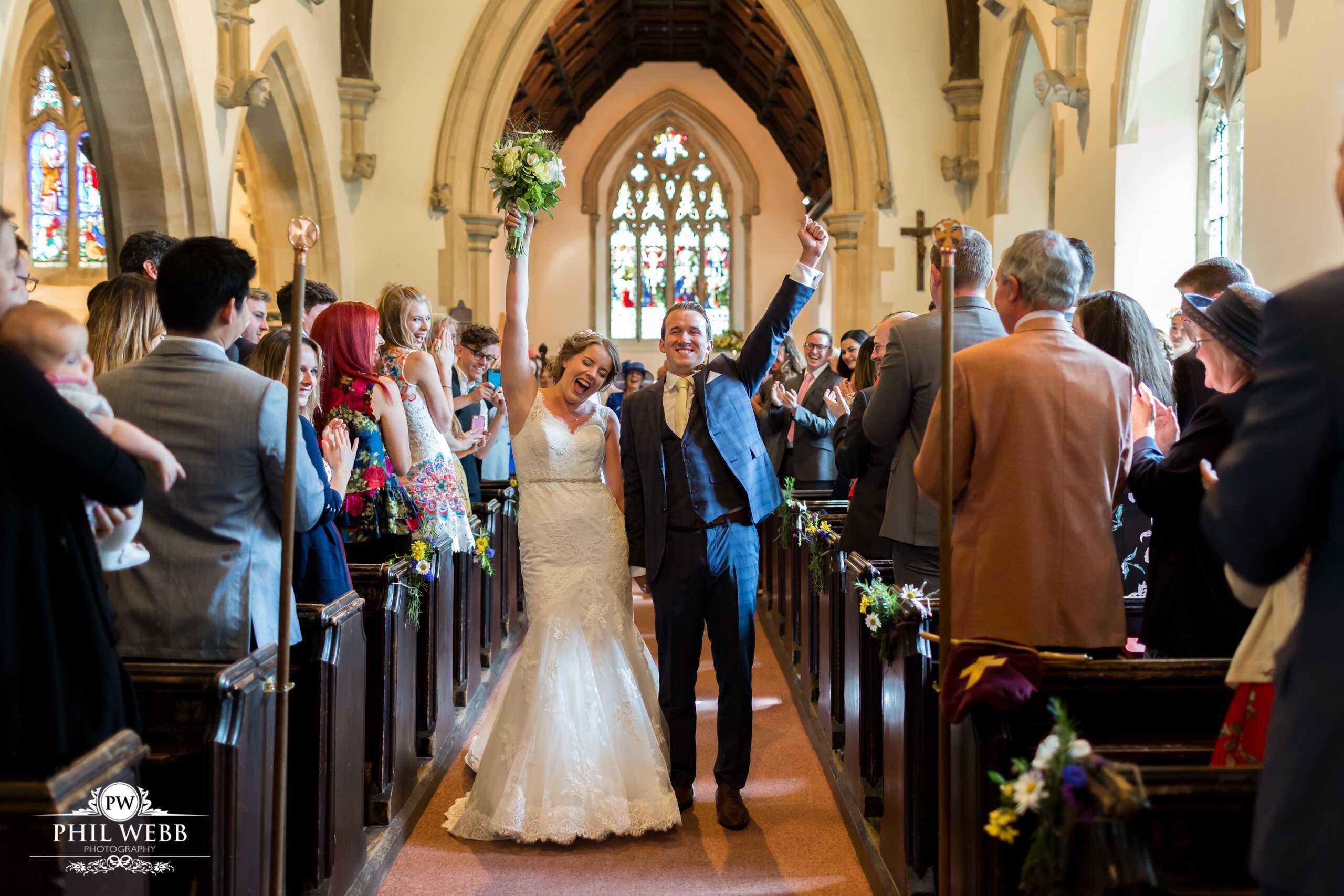 Natasha & Nathan's Wedding part 1 - St Bartholemew's Church