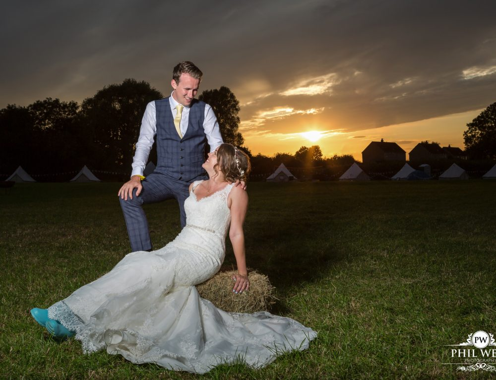 Natasha & Nathan – Rural Marquee Wedding