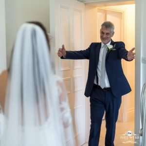 first look for father of the bride