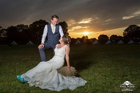NATASHA & NATHAN - RURAL MARQUEE WEDDING