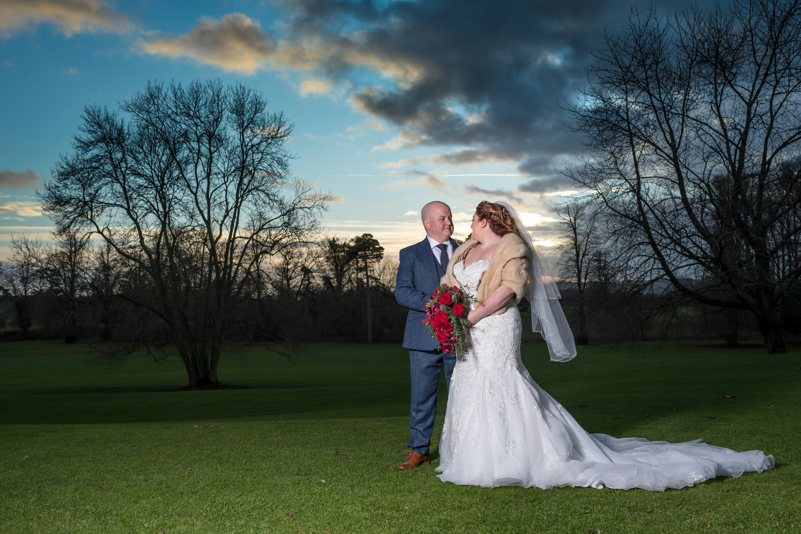 ettington park hotel wedding pictures bride and groom