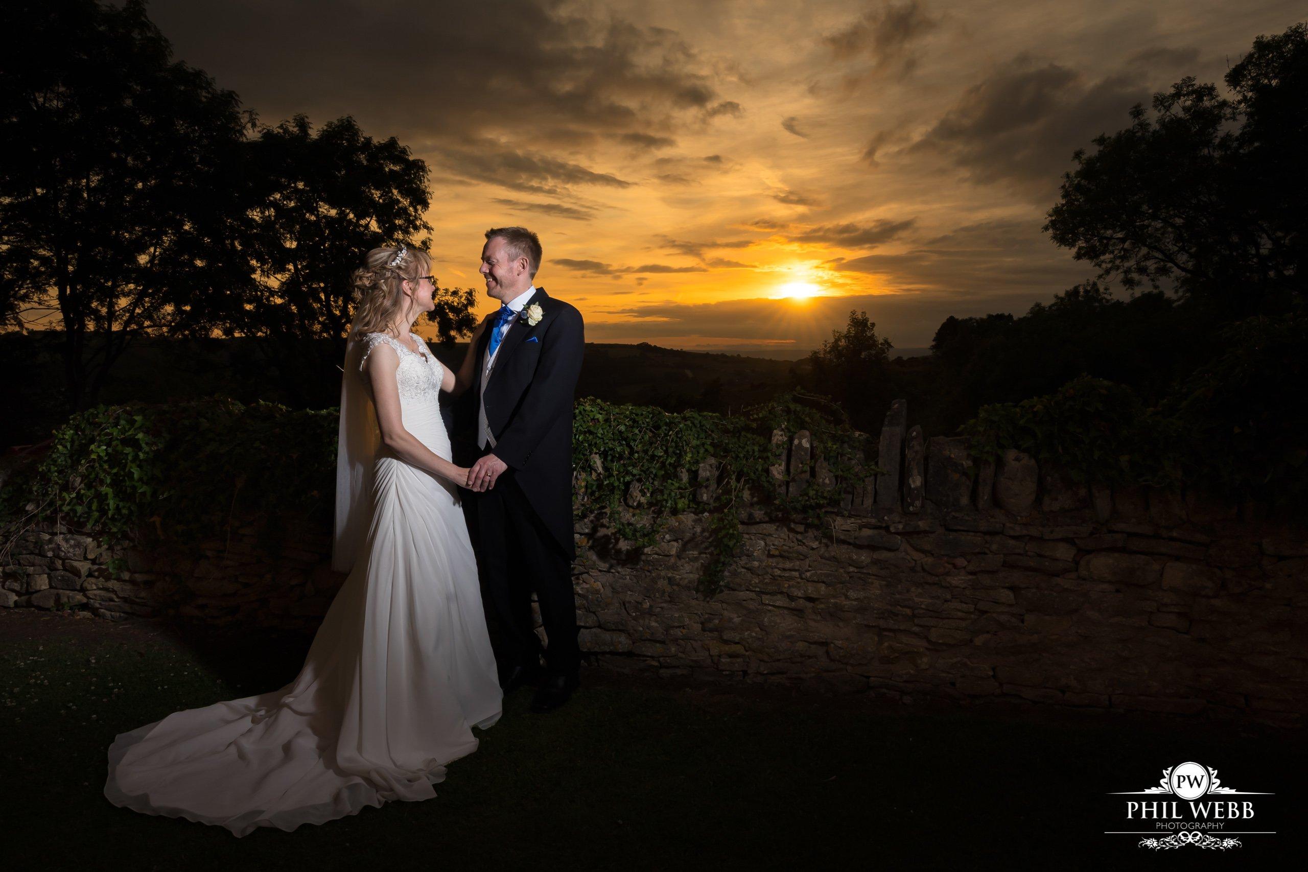 Lisa & Mark's Wedding - The Bear of Rodborough