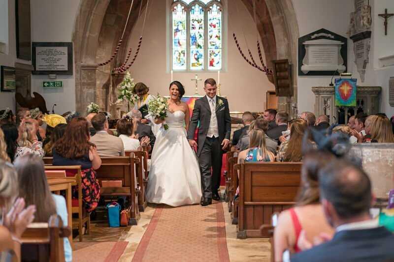 Frankie & Chris' Wedding - Minsterworth Tipi Wedding