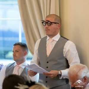 best mans speech at Eastington Park