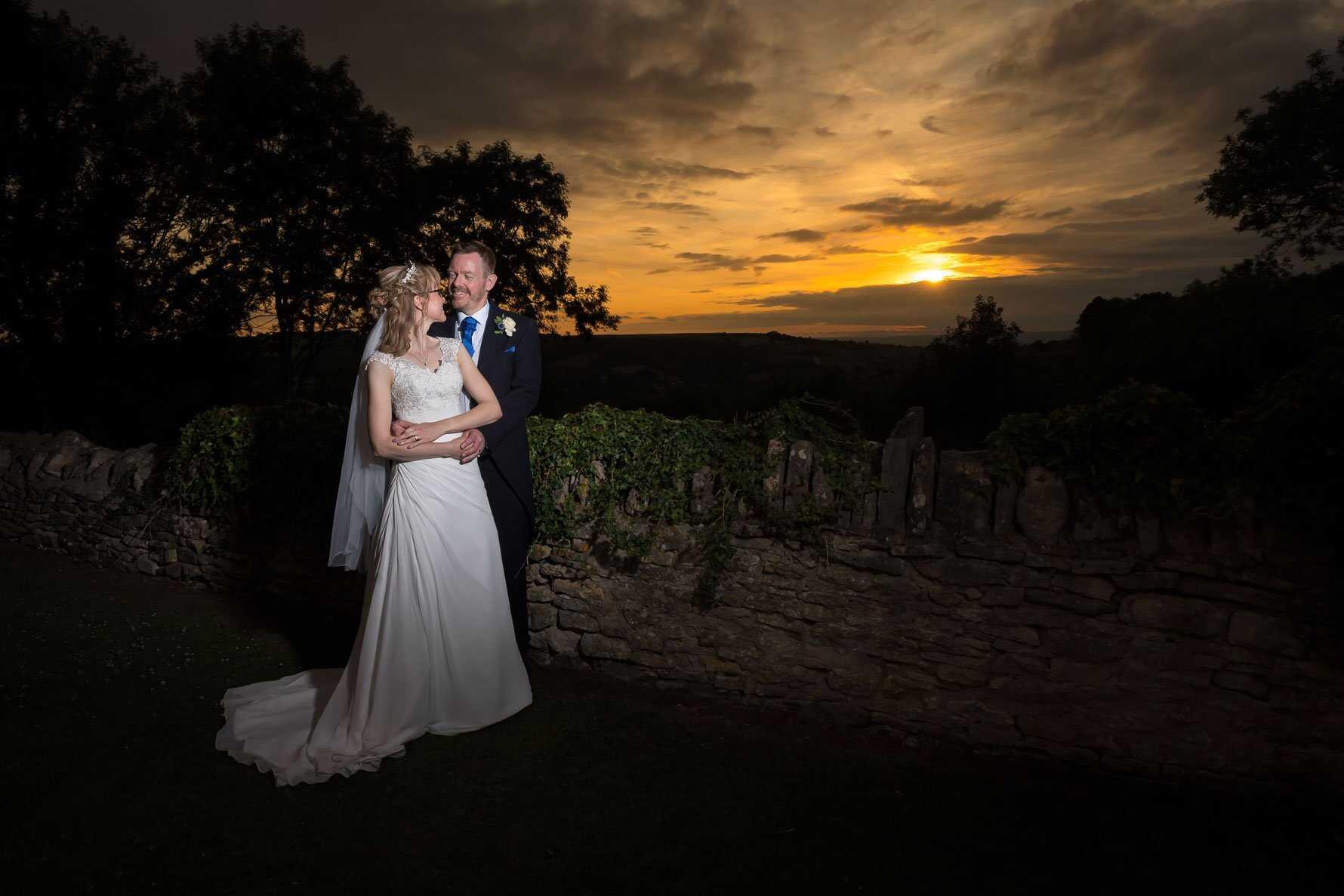 Lisa & Mark's Wedding - The Bear of Rodborough